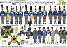 プレート248:プロイセン王国:歩兵連隊第9番/第8号1810から1815のボディ