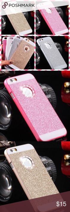COMING SOON! Bling Glitter Powder Diamond Case 6s COMING SOON! Bling Glitter Powder Diamond Case iPhone 6s in Pink, Gold and Silver. LIKE IF YOU WANT TO BE NOTIFIED WHEN IN STOCK! Accessories Phone Cases