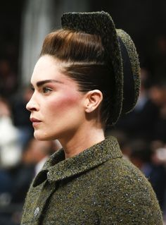 Chanel Fall/Winter 2013 Couture Hat