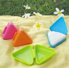 Classic Triangle Sushi Mold Big Onigiri Rice Ball Mold many color Random 1 pcs A in Home & Garden,Kitchen, Dining & Bar,Cake, Candy & Pastry Tools | eBay