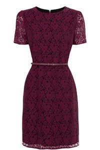 Lace Skater Shift Dress