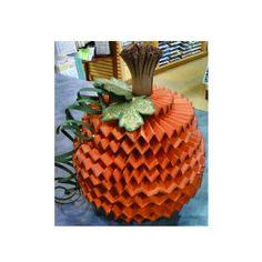 Martha Stewart Rosette Pumpkin