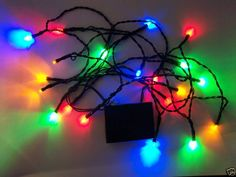 these run on 3aas and the battery pack can be slipped into your pocket for the night 20 led battery powered multicolor christmas lights