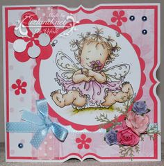 Such a pretty card showcasing perfectly that gorgeous Hobby House topper