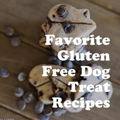 Favorite Gluten Free Dog Treats Gluten free dog treat recipes created with a variety of flours and healthy ingredients. All the nutrition, all the taste, none of the belly issues! Gourmet Dog Treats, Dog Treat Recipes, Healthy Dog Treats, Baby Food Recipes, Gluten Free Dog Food, Dog Treats Grain Free, Homemade Baby Foods, Homemade Dog Treats, Sweet Potato Dog Treats
