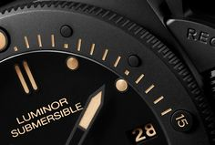 Panerai Luminor Submersible Ceramica PAM 508 - Super-LumiNova®