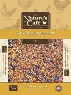 FARM PRODUCTS - NATURE'S CAFE HEN SCRATCH W/OMEGA 3&6 - 40LB - NATURE'S CAFE - UPC: 764237005084 - DEPT: HORSE PRODUCTS/FARM PRODUCTS