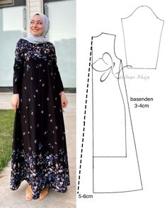 Fashion Drawing Dresses, Fashion Illustration Dresses, Women's Fashion Dresses, Vogue Fashion Photography, Fashion Photography Inspiration, Casual Fashion Trends, Summer Fashion Outfits, Dress Sewing Patterns, Hijab Styles