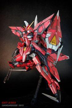 MG 1/100 GAT-X303 Aegis Gundam customized build