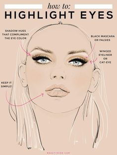 Prom Makeup Tips to Highlight Your Features - EYES: How to make your eyes stand out with makeup