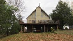 Large Lakefront Chalet With Magnificent Views & Sauna At Sleepy Hollow LakeVacation Rental in Athens - Sleepy Hollow Lake from @HomeAway! #vacation #rental #travel #homeaway
