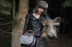 fall by KikiBike Goats, Woodland, Animals, Animales, Animaux, Animal, Animais, Goat
