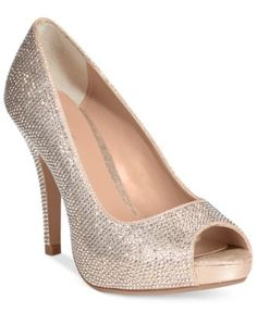 af98f4ea7e2e Thalia Sodi Selia Peep-Toe Pumps Holiday Shoes
