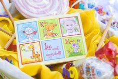 Auch das Tier ABC ist eine beliebte Einladungskarte zur Einschulung Candy Cart, Diy Birthday Decorations, Tier Abc, Frame, Home Decor, Dessert, Cat, Party, Wedding