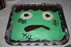 Frankenstein cake I made!
