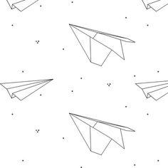 paper airplane patterns