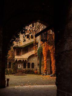 Castle of Grazzano Visconti in Emilia-Romagna, Italy photographed by  Riccardo Palazzani