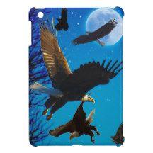 Bald Eagle Wildlife Photography Case For The iPad Mini