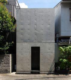 Tadao Ando, 住吉の長屋 row house in sumiyoshi