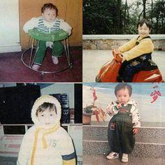 Baby predebut Lay Yixing omggggg Yixing Exo, Chanyeol Baekhyun, Childhood Images, Cute Sheep, Pre Debut, Exo Ot12, Exo Members, My King, Record Producer