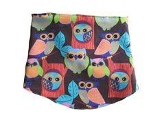 Halstücher - Halstuch Eulen mit Fleece - ein Designerstück von me-kinderkleidung bei DaWanda