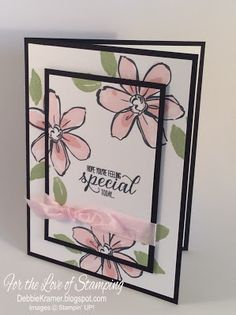 Hope You're Feeling Special, Garden in Bloom, Stampin' Up!
