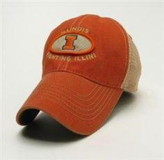 Illinois Fighting Illini Trucker Hat