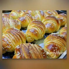No Salt Recipes, Croissant, Pretzel Bites, Doughnut, Nutella, Bacon, Lime, Bread, Snacks