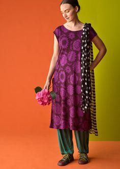 """Robe """"Solros"""" en jersey lyocell–La garde-robe de Gudrun inspirée de Oslo–GUDRUN SJÖDÉN – Kläder Online & Postorder"""