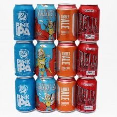 Best of British Cans (BBC) : Mixed Case (12 cans)