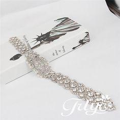 HOT-SALE-Wedding-Belt-Bridal-Belt-Sash-Belt-Crystal-Rhinestones