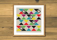 Cross stitch pattern modern cross stitch pattern by SpruceNatural
