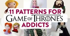 11 Patterns for Game of Thrones Addicts | Top Crochet Pattern Blog