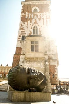 Tons of Free things to do in Krakow! One of the best - Climb the Town Hall Tower Krakow    Tessa Juliette www.travelwheretonext.com