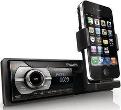 #Philips #CarStudio - Nouvelle gamme d'autos-radios dont certains équipés d'une station-d'accueil pour iPhone/iPod !