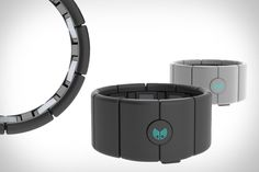 Myo Gesture Control Armband communicates with your MAC, PC, phone, or tablet over Bluetooth using proprietary muscle sensors.