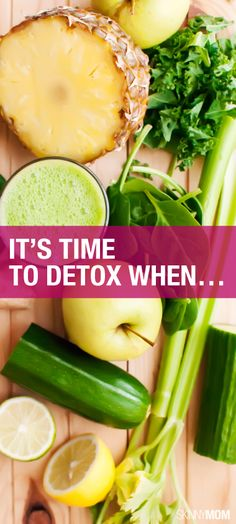 Ready for a detox?  Find out if you need one in this article.