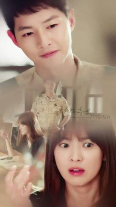 Song Joong-ki and Song Hye-kyo Yoo Shi-jin and Kang Mo-yeon Descendants of the sun Drama Korea, Korean Drama, Korean Celebrities, Korean Actors, Celebs, Live Action, Descendants Of The Sun Wallpaper, Song Hye Kyo Descendants Of The Sun, Desendents Of The Sun