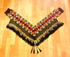 old tassel uzbek tassel multi colored tassel by akcaturkmen, $175.00
