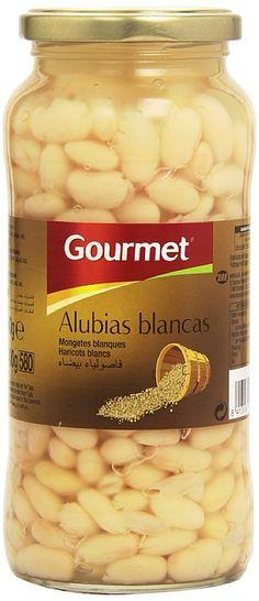 0,67€ - Gourmet - Alubias blancas - 400 g