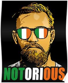 'conor mcgregor' Poster by Conor Mcgregor Poster, Conor Mcgregor Wallpaper, Mcgregor Wallpapers, Conor Mcgregor Quotes, Ufc, Coner Mcgregor, Bad Candy, Mc Gregor, History Memes