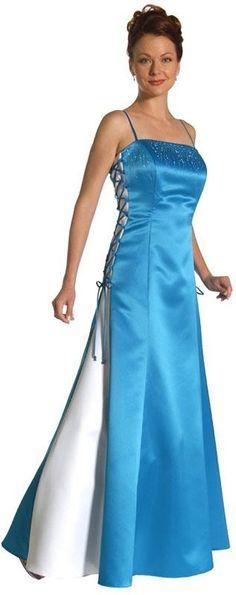 Rhinestone Crisscrossed Formal Dress
