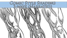 Drawing Comics How to Shade in a Comic Book Style - 3 Ways - Narrated - Comic Style Art, Comic Styles, Comic Art, Comic Books, Shading Drawing, Drawing Tips, Sketching Tips, Drawing Ideas, Anatomy Reference