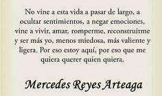 Mercedes Reyes Arteaga (La Chica De Adamantoum)