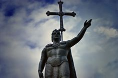 Don Pelayo, famous for the starting of the Reconquista, which means the reformation.