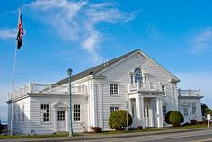 Steilacoom Town Hall -our wedding reception location in 2004!!!!!