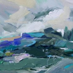 """Landscape near Wilsons Prom"" One of my Victorian series. Happy day everyone! #modernart #artcollector #artistlife"