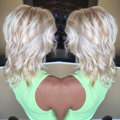 Icy blonde hair #whitehair #silverblonde #platnium