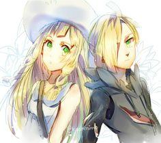 Pokemon Sun & Moon: Gladion & Lillie