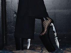 #knife #platform #goth #shoes